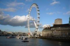 伦敦眼-储蓄图象 库存照片