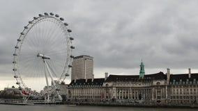 伦敦眼 免版税库存照片