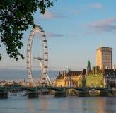 伦敦眼 库存照片