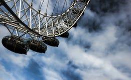 伦敦眼 免版税图库摄影