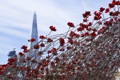 伦敦碎片 免版税图库摄影