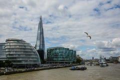 伦敦碎片 免版税库存照片
