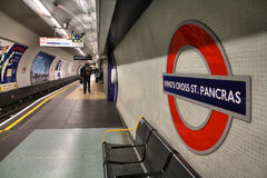 伦敦管 免版税库存图片