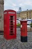 伦敦红色英国象  免版税库存图片