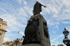 伦敦纪念品雕塑 库存图片