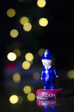 伦敦纪念品-警察 库存图片