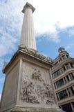 伦敦纪念碑英国 库存照片