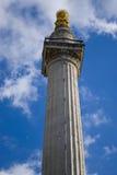 伦敦纪念碑 免版税库存照片