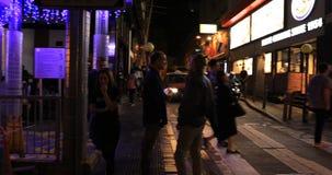 伦敦苏豪区区夜 股票录像