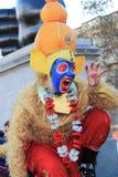 伦敦英国 2016年10月16日, Dewali执行者和场面伦敦节日的市长在特拉法加广场 图库摄影