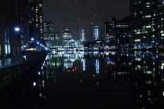 伦敦英国02/12/2017 欧洲银行领导城市 免版税库存图片