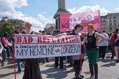 伦敦荡妇正方形trafalgar结构 免版税图库摄影