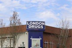 伦敦药物 库存图片