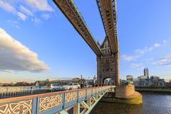伦敦著名塔桥梁  免版税库存图片