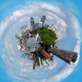 伦敦行星 免版税库存图片