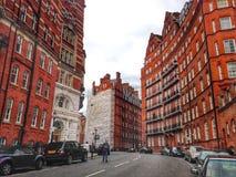 伦敦街道视图 库存图片