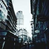 伦敦街道 免版税库存照片