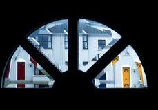 伦敦西区Doorview 图库摄影