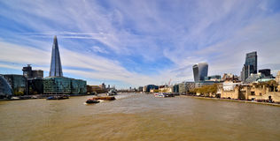 伦敦视图 免版税库存照片