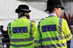 伦敦警察警察妇女 库存图片