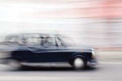 伦敦计程车 免版税库存照片