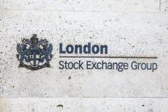伦敦证券交易所 免版税库存照片