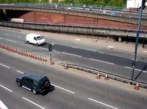 伦敦路屏幕2 免版税库存图片