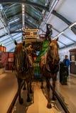 伦敦运输局博物馆 免版税图库摄影