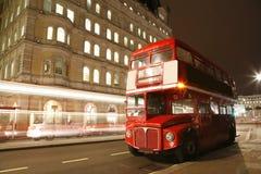 伦敦途径重要资料公共汽车 免版税库存图片