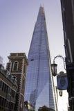 伦敦都市风景伦敦碎片 库存照片