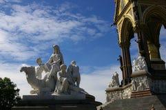 伦敦雕塑石头 库存照片