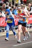 伦敦马拉松贞女 库存图片