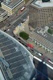 伦敦鸟瞰图从碎片的 库存图片