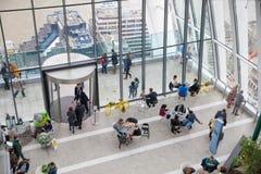 伦敦,企业城市视图 库存图片
