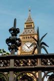 伦敦,大本钟伊丽莎白塔 库存照片