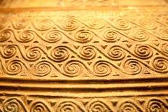 伦敦,大英博物馆 从Grrek铜器时代3200-1100的希腊对象BC 库存照片