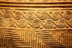 伦敦,大英博物馆 从Grrek铜器时代3200-1100的希腊对象BC 库存图片