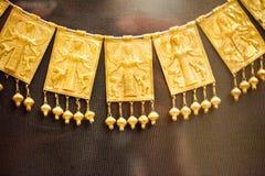 伦敦,大英博物馆 从Grrek铜器时代3200-1100的希腊珠宝BC 库存图片