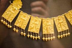 伦敦,大英博物馆 从Grrek铜器时代3200-1100的希腊珠宝BC 库存照片