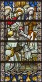 伦敦,大英国- 2017年9月17日:上升Jairus女儿在教会圣詹姆斯西班牙人放 免版税库存照片