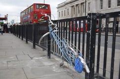 伦敦,桥梁街道,威斯敏斯特 免版税库存照片