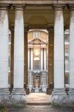 伦敦,老海军办公室,在伦敦南部,大英帝国期间经典建筑学  库存照片
