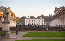 伦敦,老海军办公室,在伦敦南部,大英帝国期间经典建筑学  图库摄影