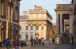伦敦,老皇家办公室在Grinwich 免版税库存图片