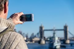 伦敦,英国地标  免版税图库摄影