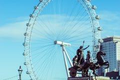 05/11/2017伦敦,英国,伦敦眼 库存图片