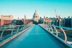 05/11/2017伦敦,英国,圣保罗大教堂看法  图库摄影