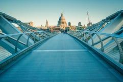 05/11/2017伦敦,英国,圣保罗大教堂看法  免版税库存照片