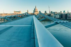 05/11/2017伦敦,英国,圣保罗大教堂看法  免版税图库摄影