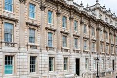 伦敦,英国,城市建筑学-内阁办公室 库存照片